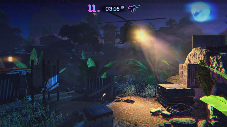 Trials of the Blood Dragon Screenshot 2