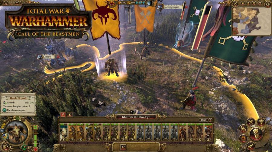 Total War Warhammer - Call of the Beastmen DLC Screenshot 8