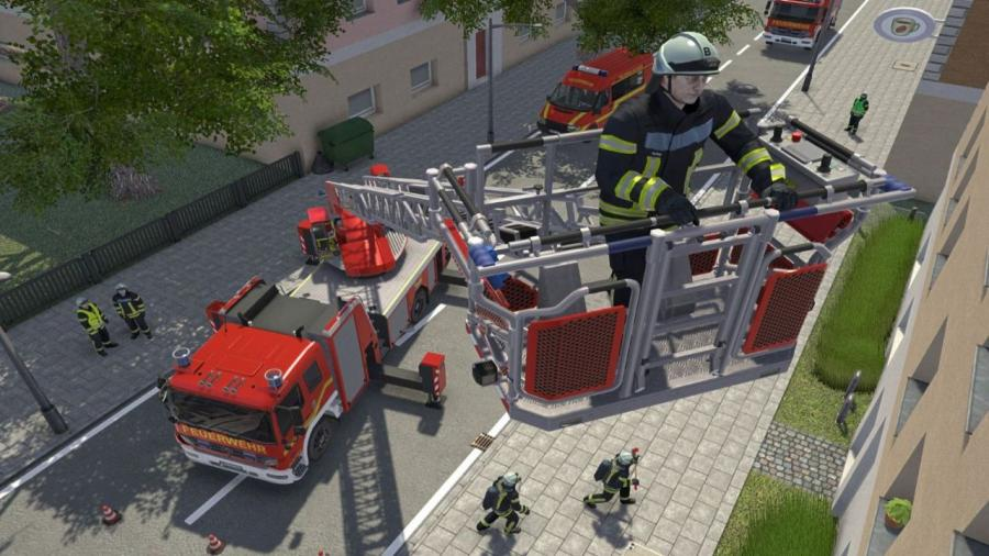 Emergency Call 112 - The Fire Fighting Simulation Screenshot 1
