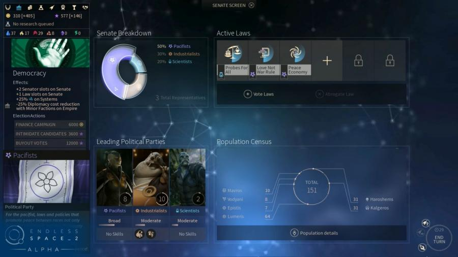 Endless Space 2 - Clé cadeau Steam Screenshot 4