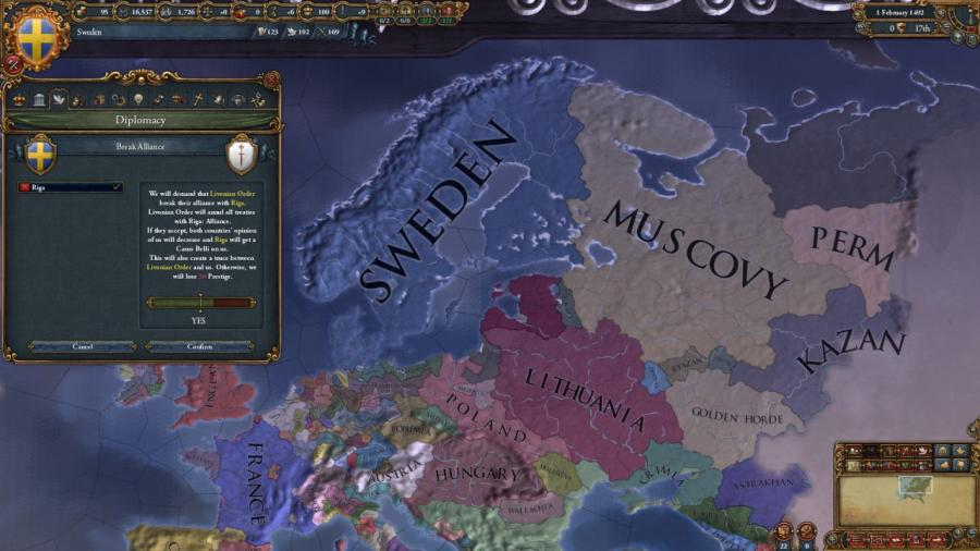 Europa Universalis IV - Rights of Man (extension) Screenshot 2