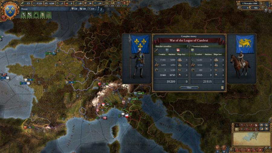 Europa Universalis IV - Rights of Man (extension) Screenshot 1