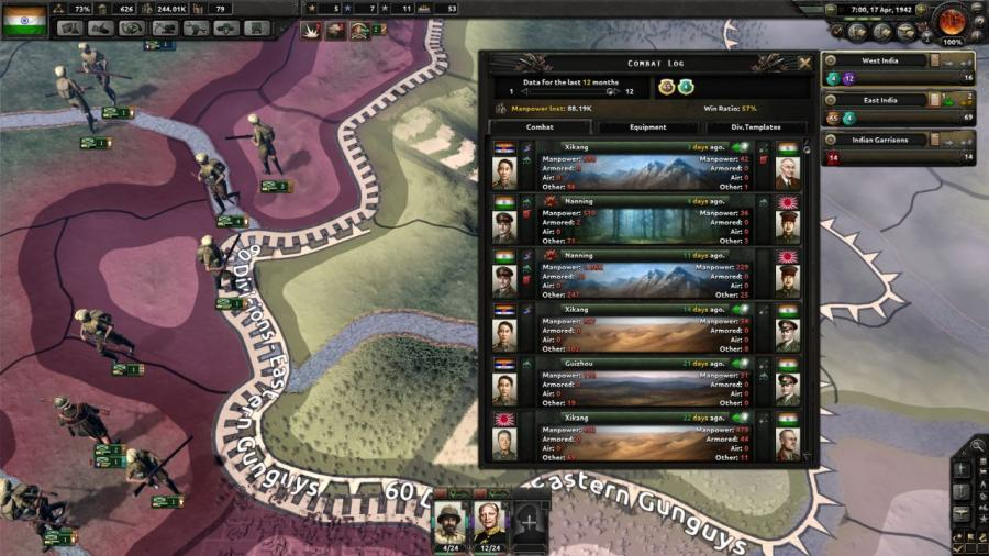 Hearts of Iron IV - Together for Victory (extension) Screenshot 8