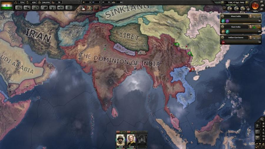 Hearts of Iron IV - Together for Victory (extension) Screenshot 2