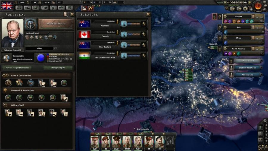Hearts of Iron IV - Together for Victory (extension) Screenshot 1