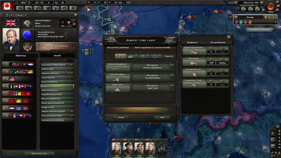 Hearts of Iron IV - Together for Victory (extension) Screenshot 3