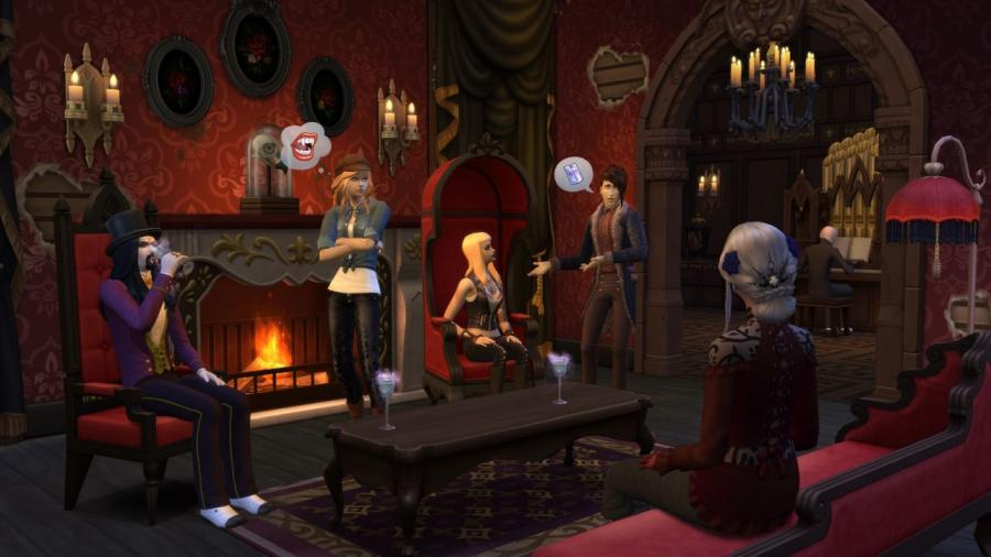 Les Sims 4 - Vampires Bundle Screenshot 1