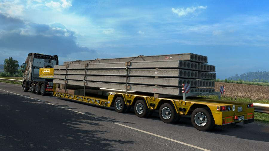 Euro Truck Simulator 2 - Heavy Cargo Pack (DLC) Screenshot 5