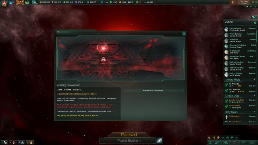 Stellaris - Synthetic Dawn Story Pack (DLC) Screenshot 5