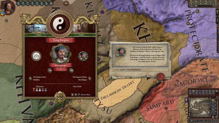 Crusader Kings II - Jade Dragon (DLC) Screenshot 7