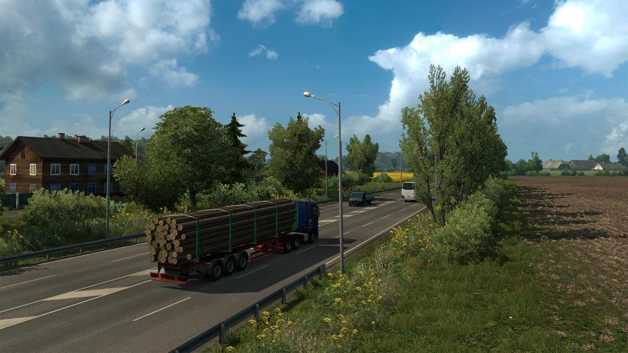 Euro Truck Simulator 2 - Beyond the Baltic Sea (DLC) - EU Key Screenshot 4