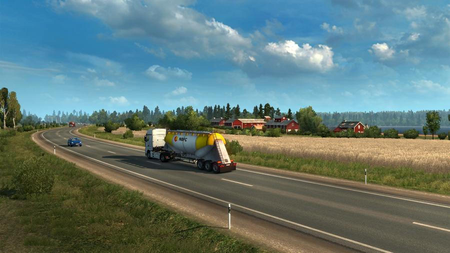 Euro Truck Simulator 2 - Beyond the Baltic Sea (DLC) - EU Key Screenshot 3