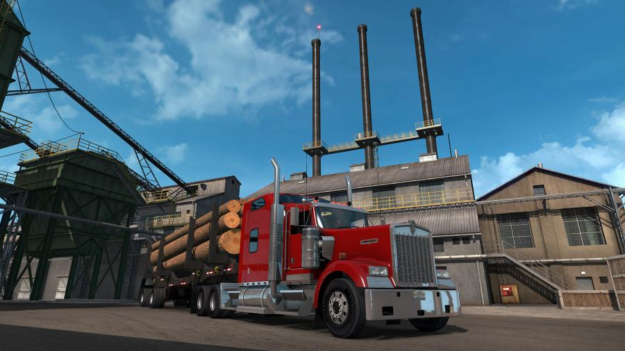 American Truck Simulator - Oregon (DLC) - EU Key Screenshot 3